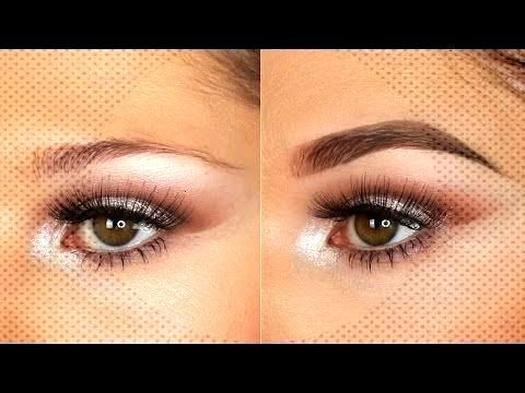Tutorial using the Inglot Brow Gel Liners | Brianna SA Pro Team - YouTube Eyebrow Tutorial using th