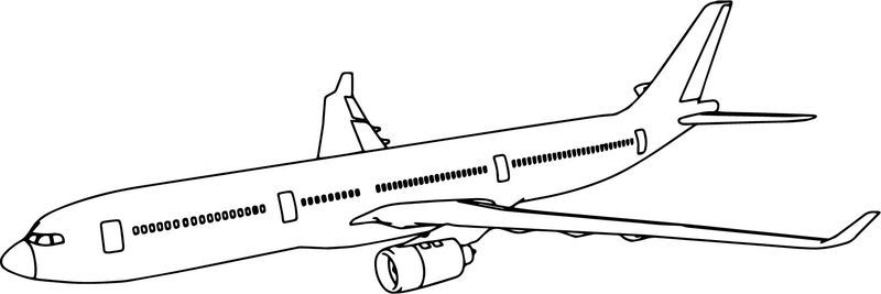 Thy Airbus A330 Plane Coloring Page Coloring Pages Truck Coloring Pages Printable Coloring Book