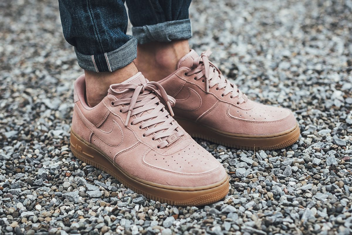 nike air force 1 07 low suede wedges
