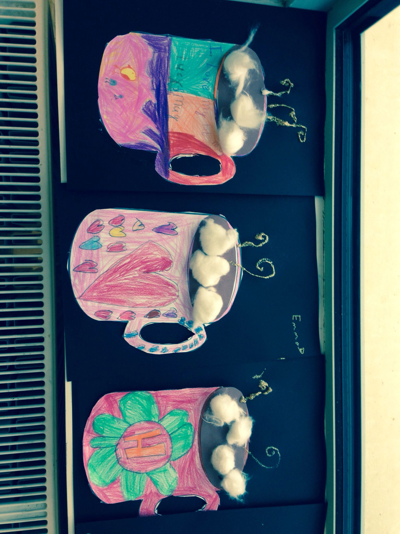 Hot Chocolate Mug Winter Art And Craft Idea