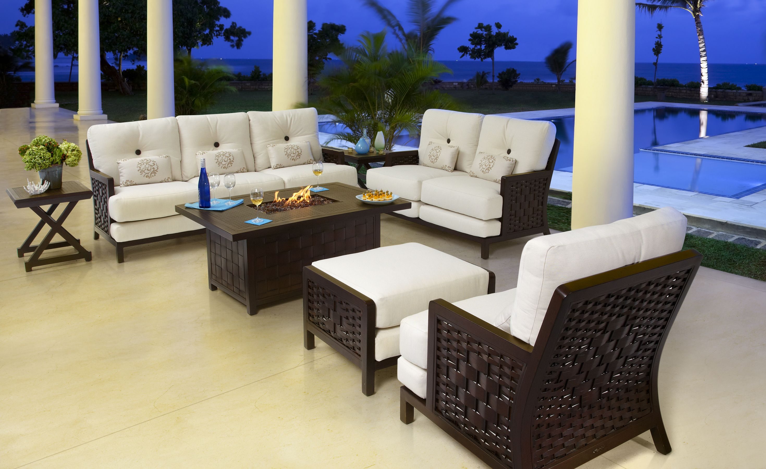 Deep Seating in Spanish Bay Collection from Castelle by Pride