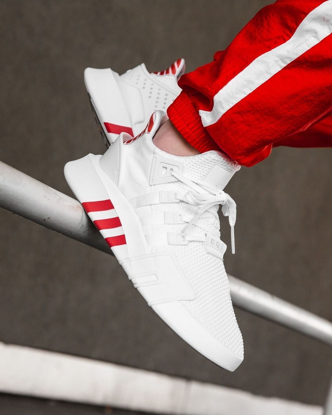 9ed921960bb6 Adidas EQT Bask ADV White   Trace Scarlet Credit   Overkill