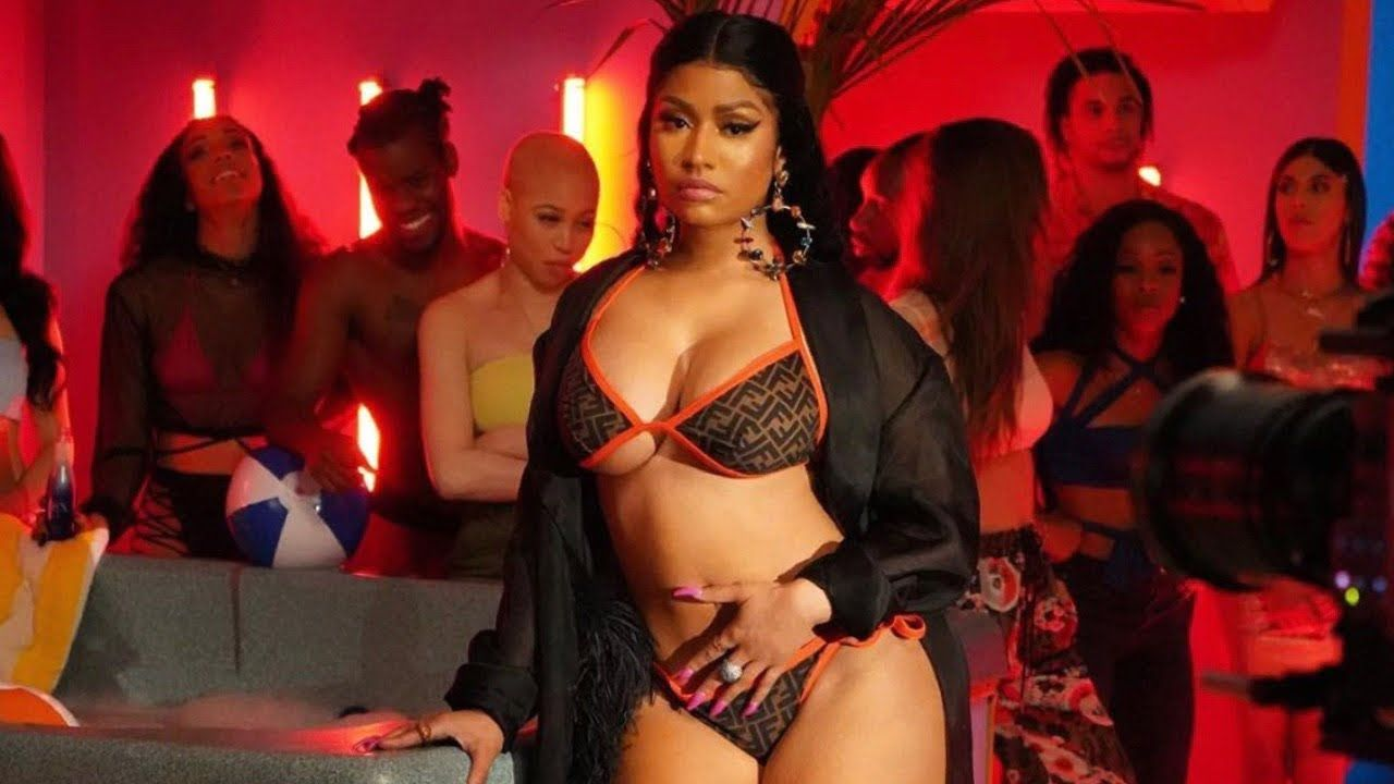 Nicki Minaj Ft Megan Thee Stallion Lil Nas X Monty Cookie Youtube Nicki Minaj Pictures Nicki Minaj Nicki Minaj Twerk