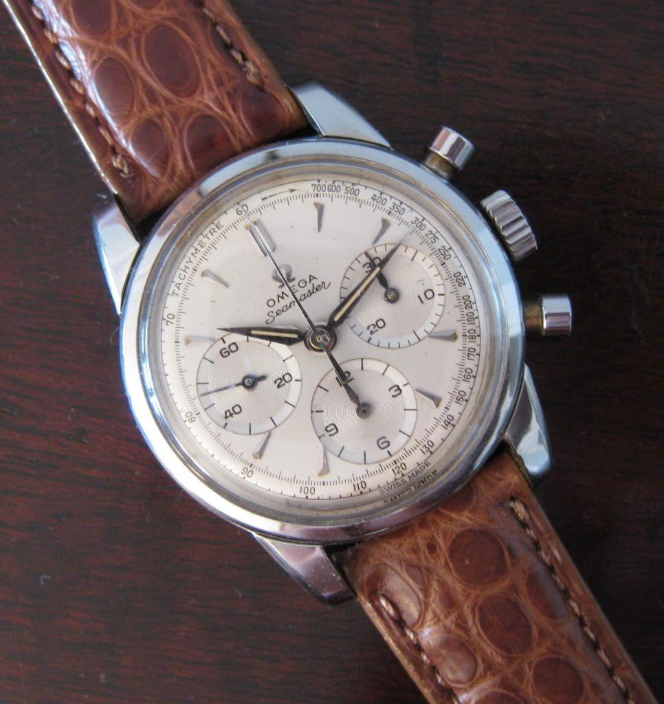 Omega Seamaster chronograph vintage. Caliber 321