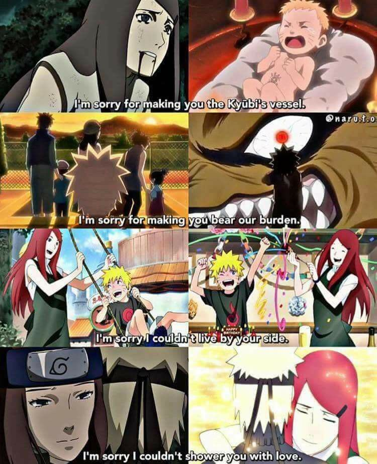 My Naruto Rpc Mai Sad Pics: The Love Of A Mother… Kushina… You Broke My Heart