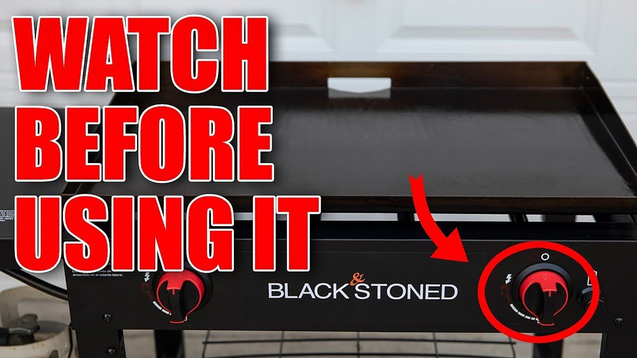 Do not do this when seasoning your flat top griddle