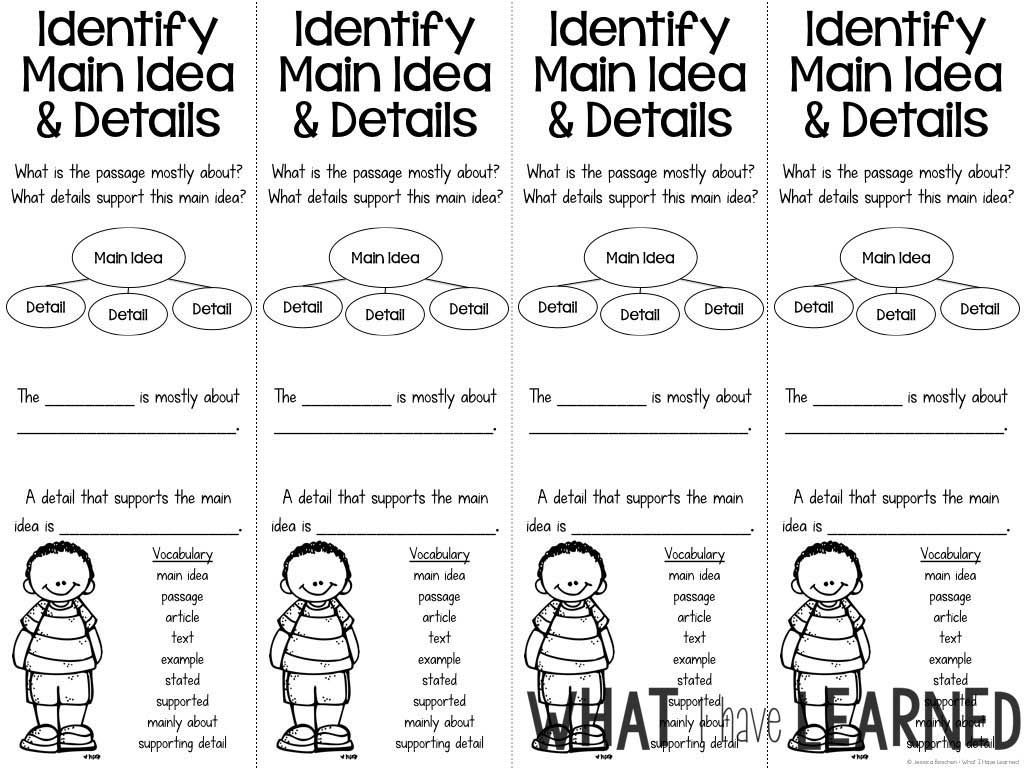 Reading Comprehension Bookmarks To Support Academic