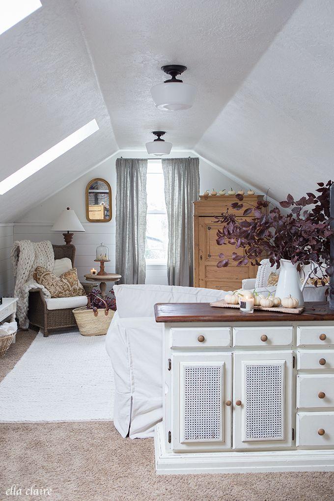 Photo of Cozy and Family Friendly Fall Family Room Decor – Ella Claire