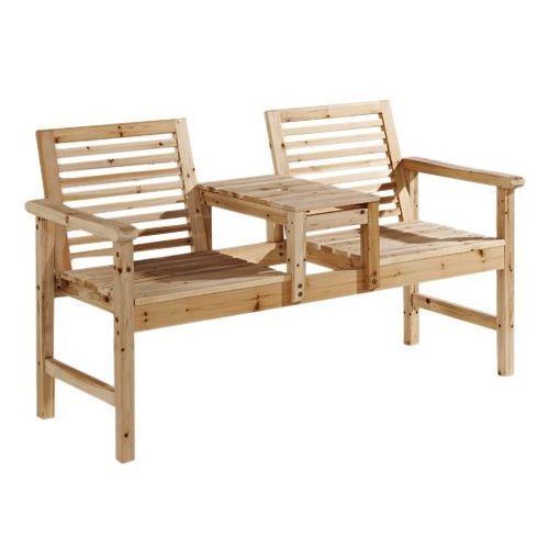 mountrose companion set hardwood garden bench love seat jack and