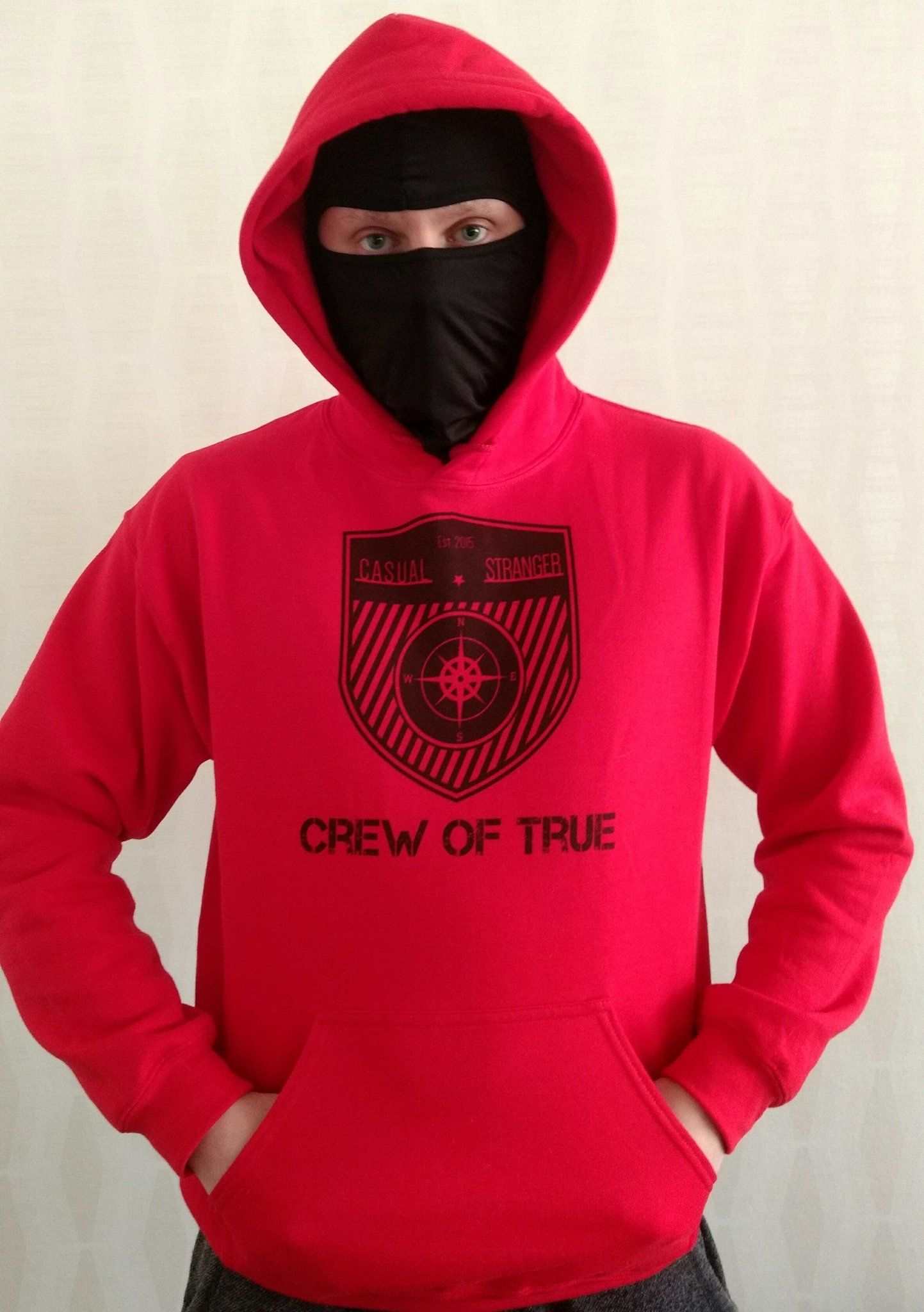 "Casual Stranger på Twitter: ""Original Crew Of True Casual Stranger! #casualstranger #casual #CasualFriday #nofacenoname #hoodiefriday #hoodie #ultraswear #Original https://t.co/21NbvlOLu2"""