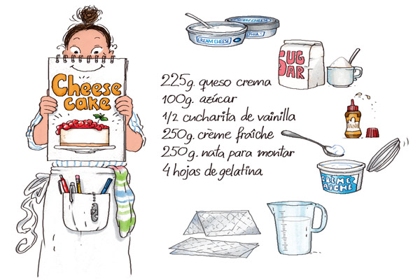 Cheesecake dibujos de comida para imprimir pinterest for Cocinar imagenes animadas