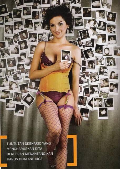 Foto Hot Andhara Early Model Seksi Pertama Yang Jadi Cover Majalah Playboy Indonesia