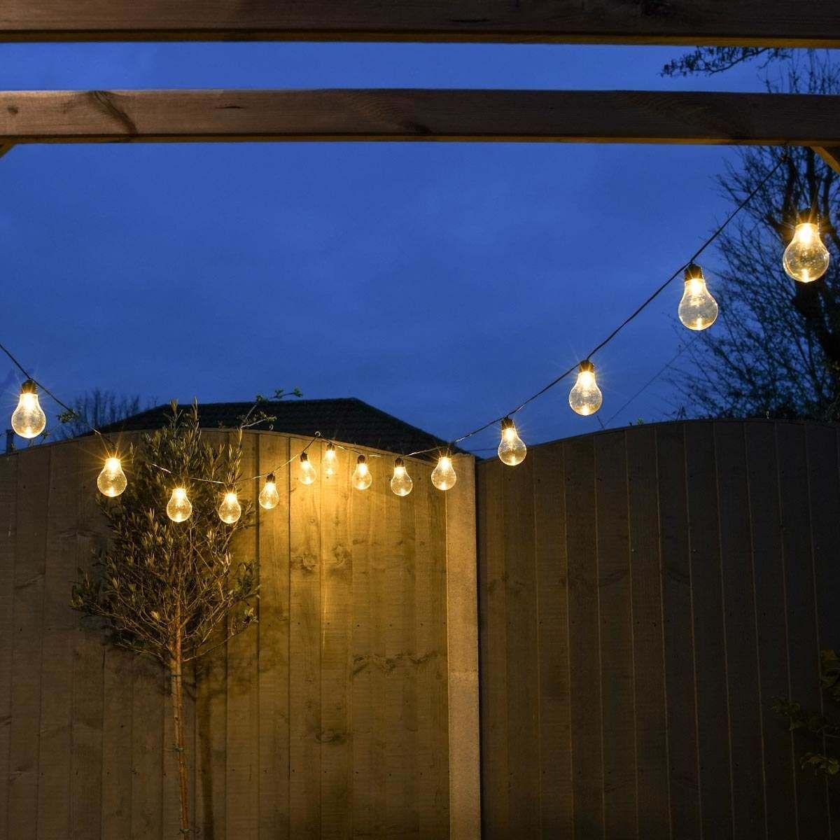 Outdoor Plug In A60 Warm White Led Festoon Lights Festoon Lighting Festoon Outdoor