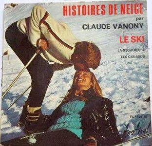 Claude Vanony - Histoires de neige : Le sky, la sécheresse, Les canards (196?).