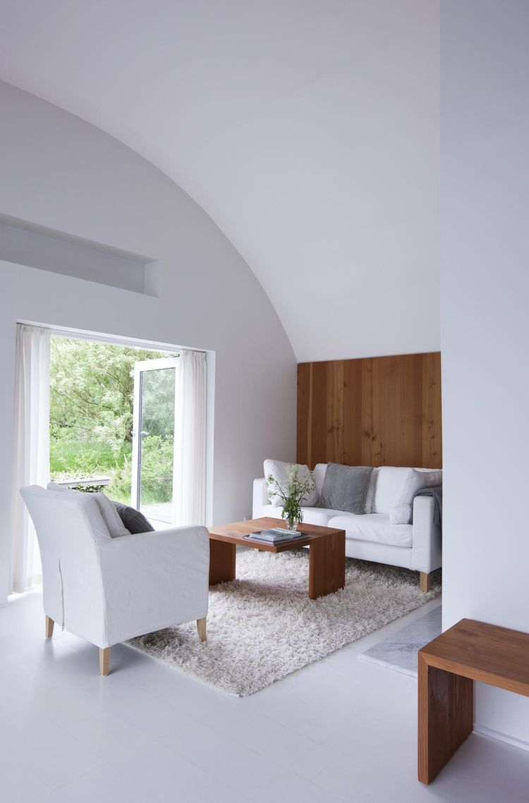A Thatched Cottage In Denmark With A Modern Space Saving Inte