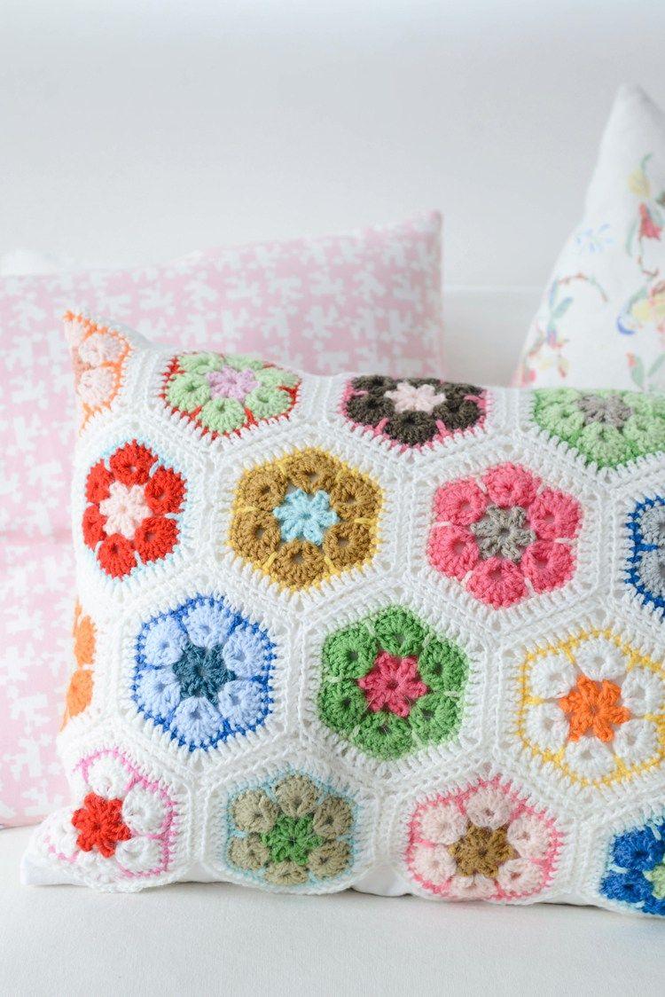 African Flower Crochet Pattern | Ganchillo, Tejido y Manta