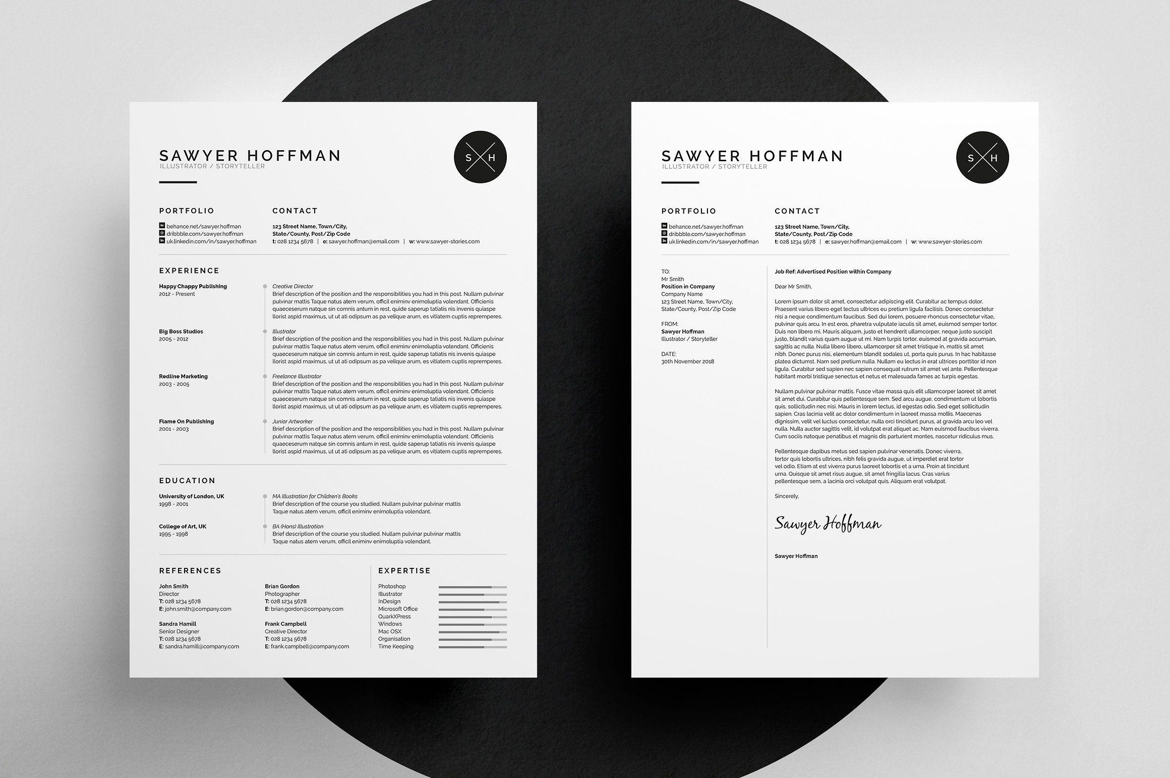 Resume/CV - Sawyer | Resume cv, Cv template and Template
