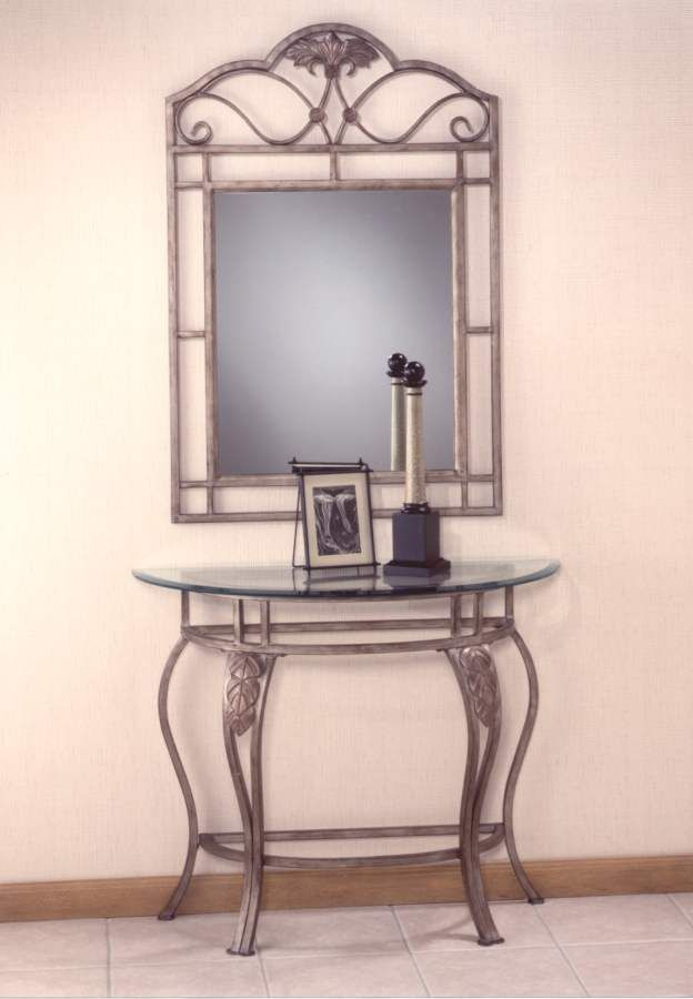 Bordeaux Console Table And Mirror Set 40543 44s