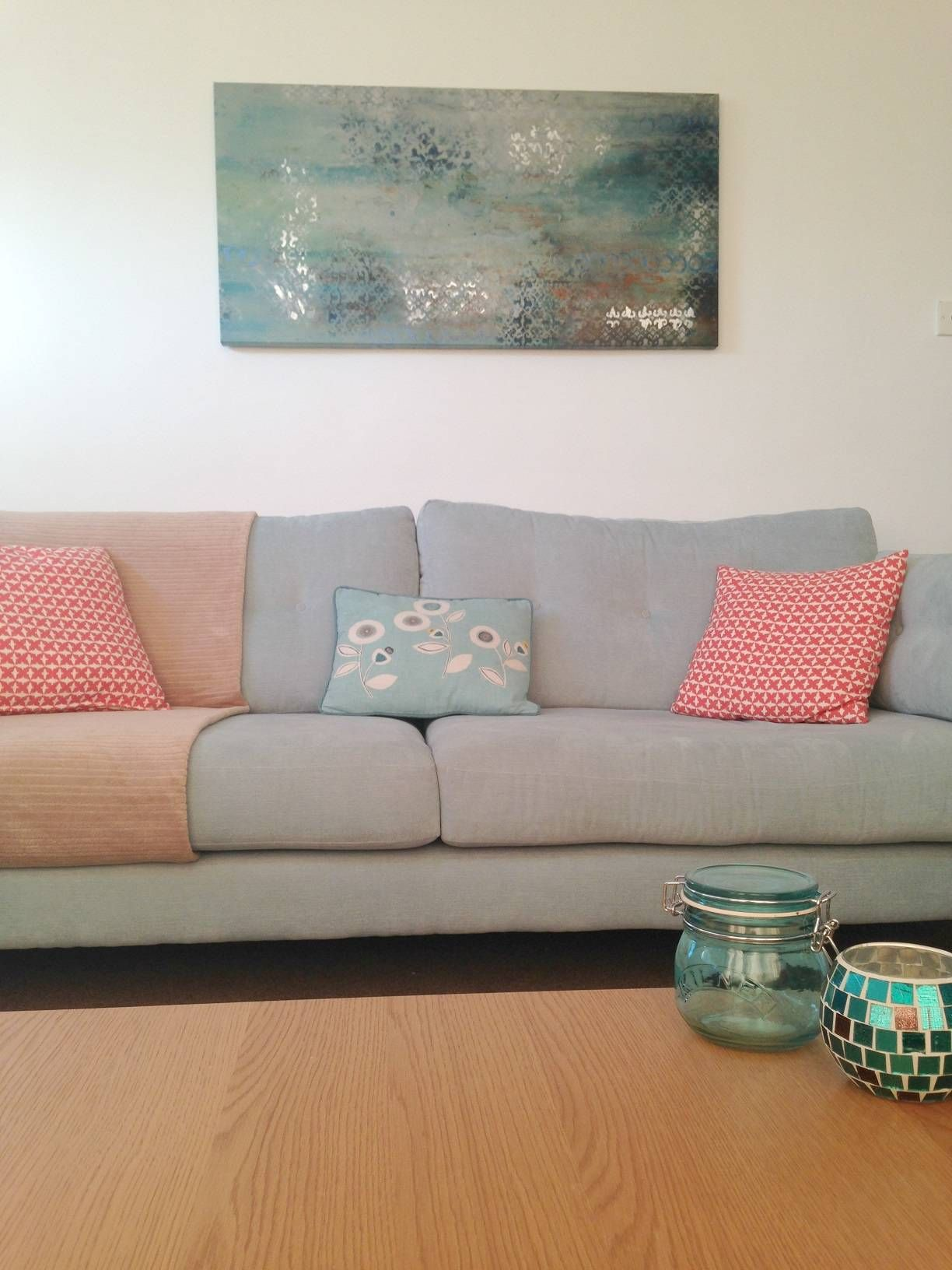 Living Room Home Decor Lovefrommim Lounge Aqua Mint Sofa Homebase Emmett Furniture And C Accessories