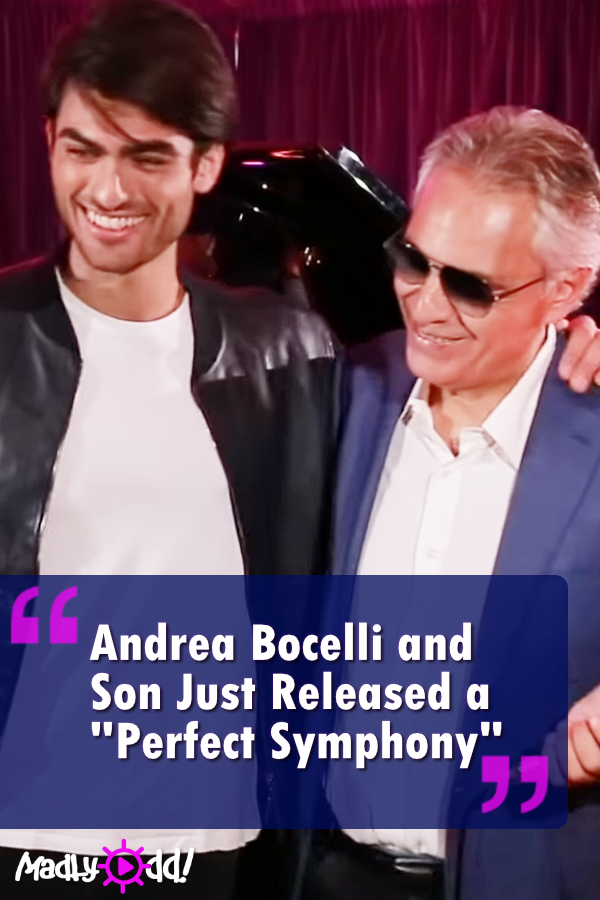 Andrea Bocelli And Son Just Released A Perfect Symphony Singing Videos Dance Music Videos Music Lyrics Quotes Songs