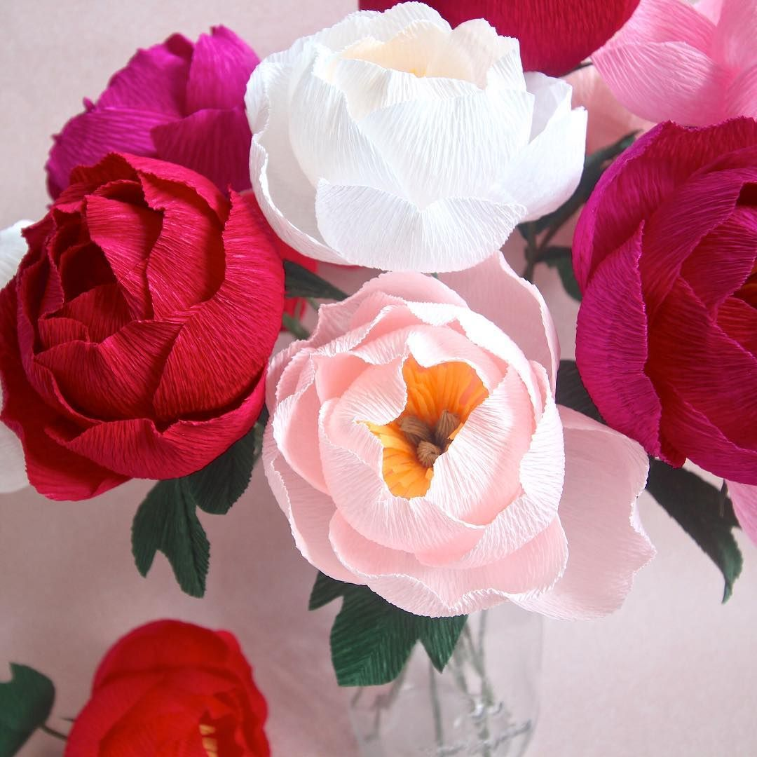 Iuve added a new session for my crepe paper simple peony workshop on