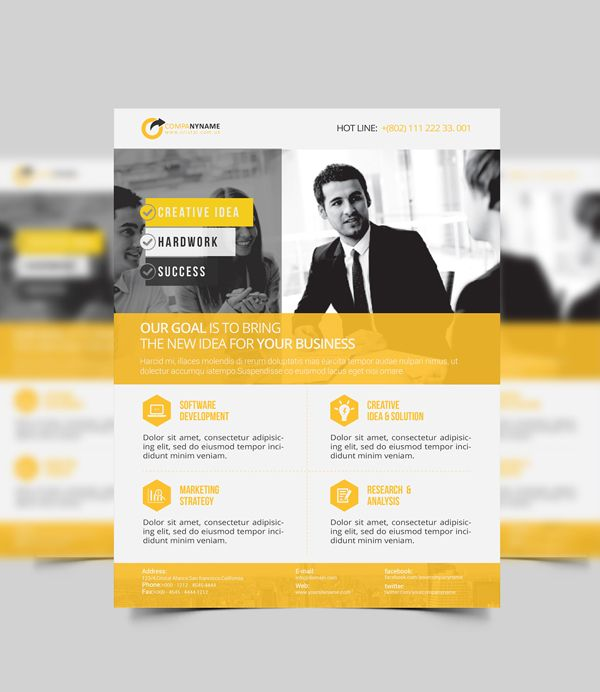 corporate flyer business template design corporate flyer flyer