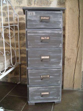 renovation et relooking du0027 un meuble cinq tiroirs peinture liberon - peinture de porte de garage