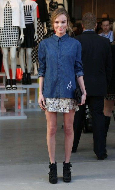 Kate Bosworth em J.W. Anderson para Topshop