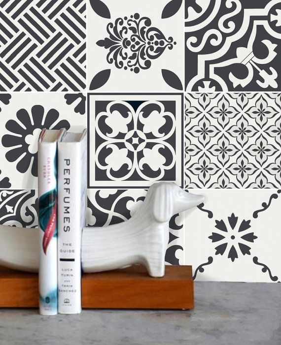 Tile Decals Tiles For Kitchen Bathroom Back Splash Floor Wmix2