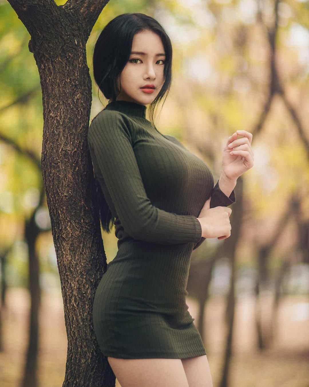 Korean nuked new sexy girl