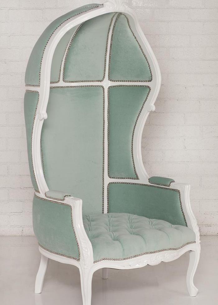 French Twist Balloon Chair