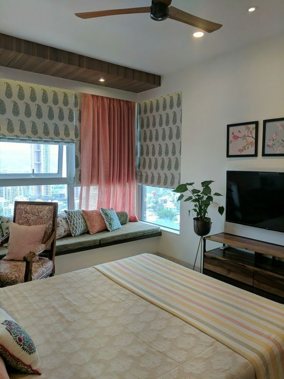 Best 21 Modern Eclectic Bedroom To Inspire Everyone Indian 400 x 300