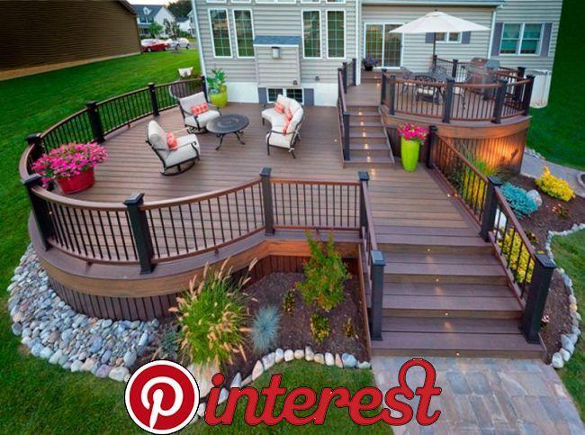 Amazing Trex Deck Designs By Amazing Trex Deck Designs By Deck Designs Backyard Patio Deck Designs Decks Backyard