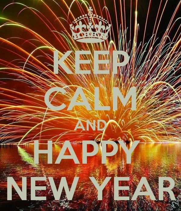 Keeping Christmas All The Year: KEEP CALM AND HAPPY NEW YEAR