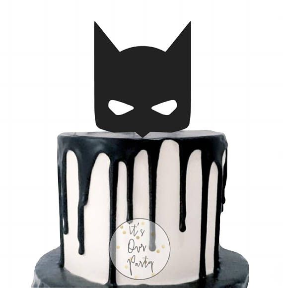batman cake topper superhero cake topper superhero party Christian