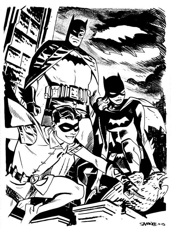 Awesome Art Picks Medusa Doctor Doom Joker And More Comic Art Batman Comics Batgirl