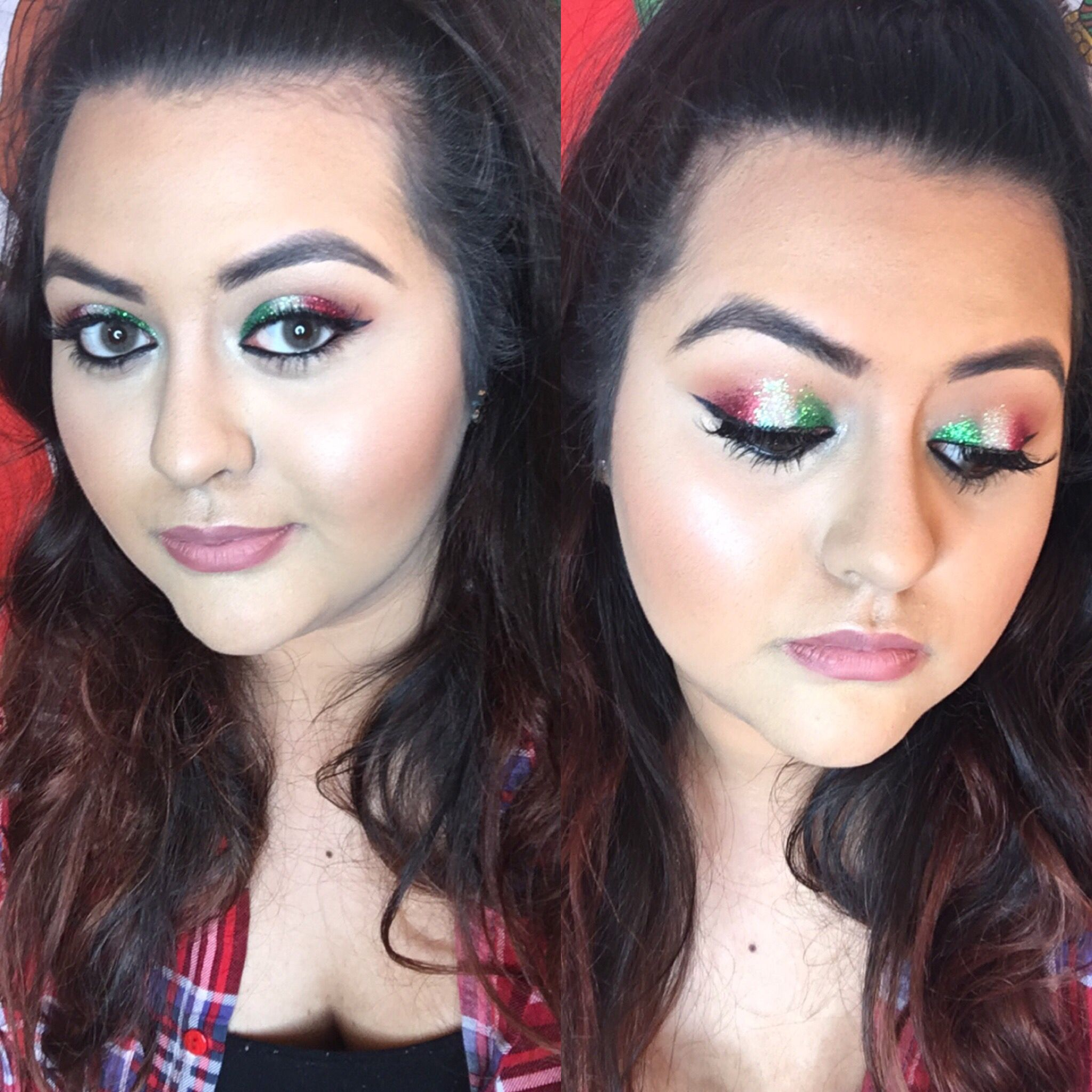 Cinco De Mayo Or Mexico Independence Day Glitter Makeup Makeup Inspiration Unique Makeup German Beauty