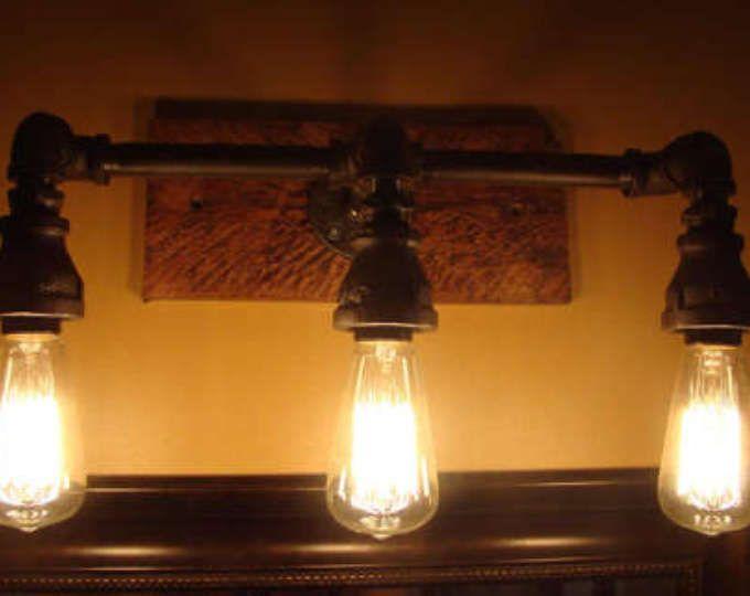 Man Cave Vanity : Industrial vanity light mason jars pinterest vanities