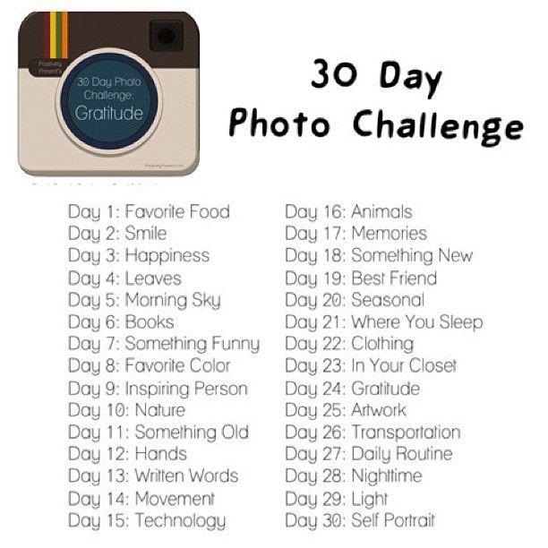 Ocean Deepness Bliss 30 Day Instagram Photo Challenge Part 1