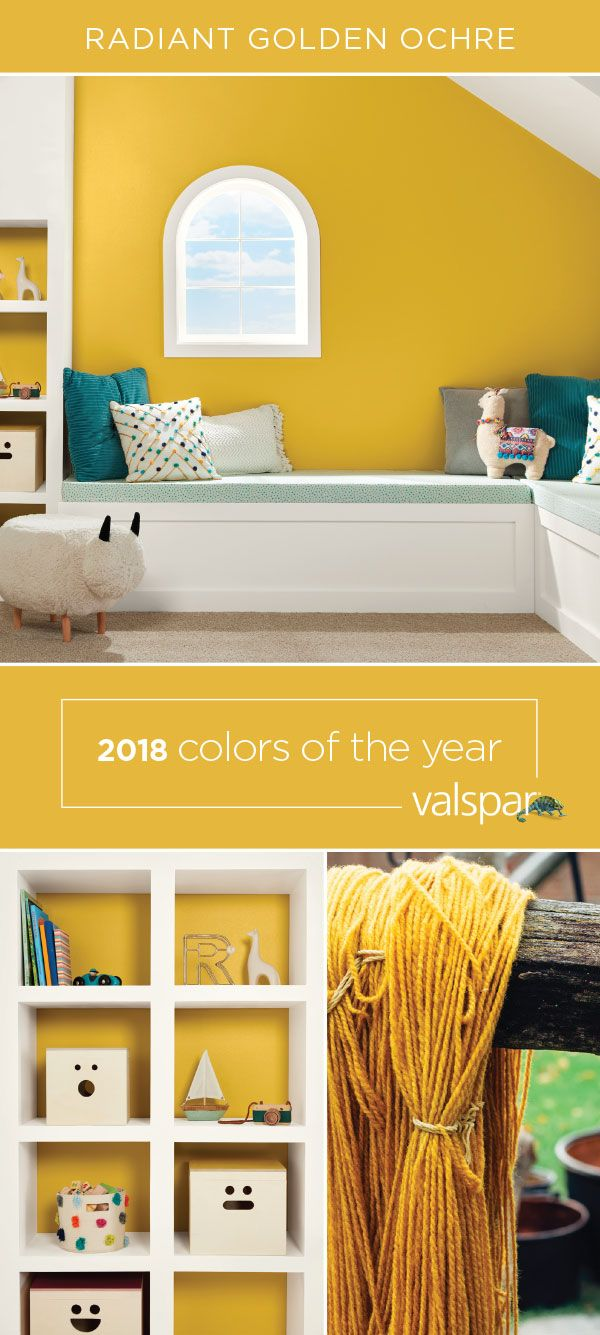 Need a change? Bring this sunny marigold into your home with Valspar ...