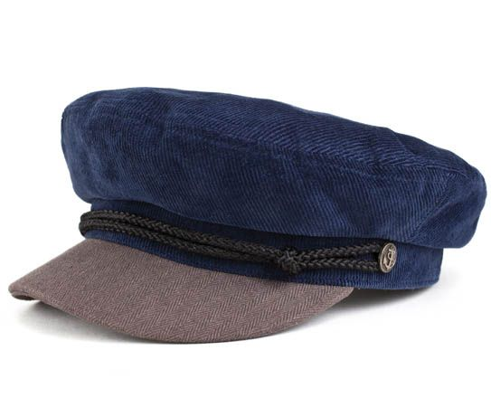 Fiddler Hat by Brixton- Blue Grey  5776a70b63b