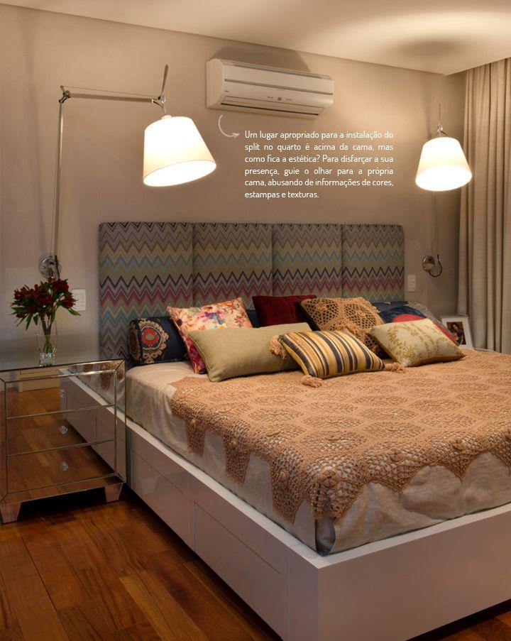 Ar Condicionado No Decor Como Conciliar Quarto Interior