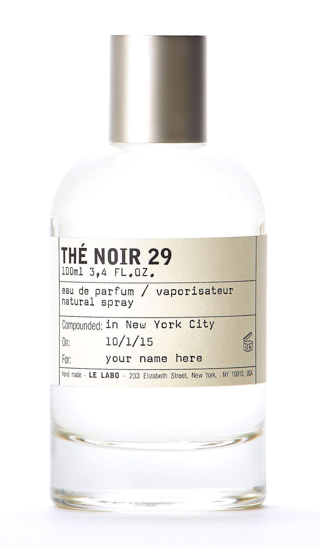 """Le Labo """"Thé Noir 29 """". If you're into fragrances with a"""