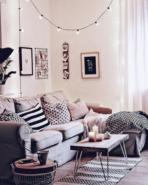 Photo of Noticias de la sala de estar: rollo de cojín con hilo textil