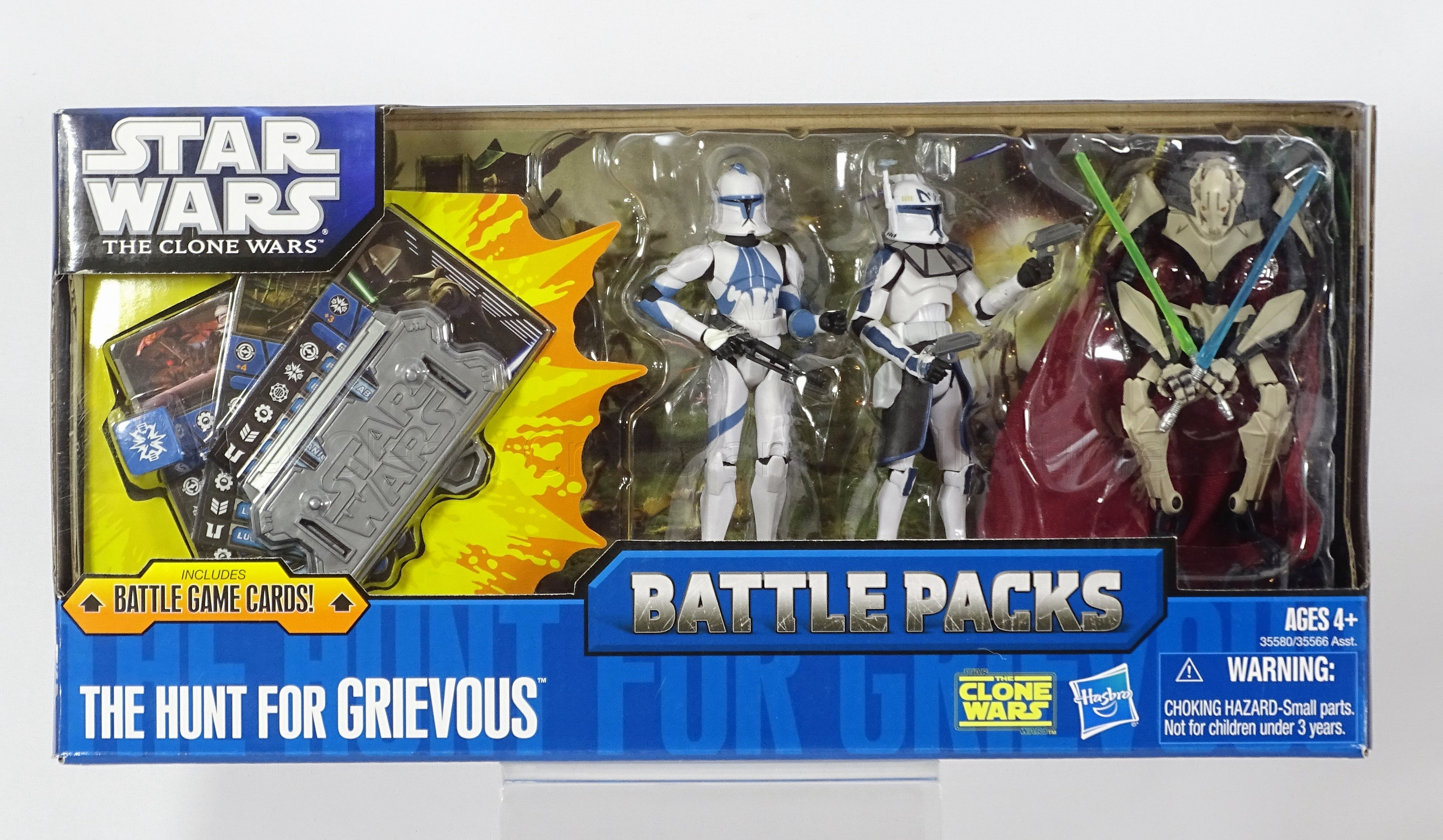 The Hunt For Grievous Battle Pack Star Wars Toys Star Wars Figures Star Wars Set