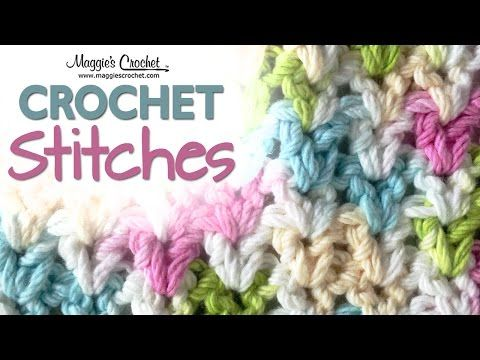 Stitch Repeat V-Stitch – Free Crochet Pattern : Maggie\'s Crochet ...