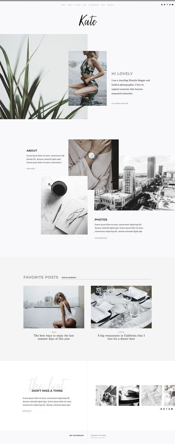 25 Best html template minimal for June 2020