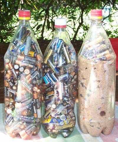 Las Pilas No Deben Ser Arrojadas A La Basura Pues Contaminan El Agua Contaminantes Planetas Reciclar Pilas