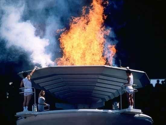 1988 Olympic Cauldron.jpg | Summer olympics, Olympics and ...