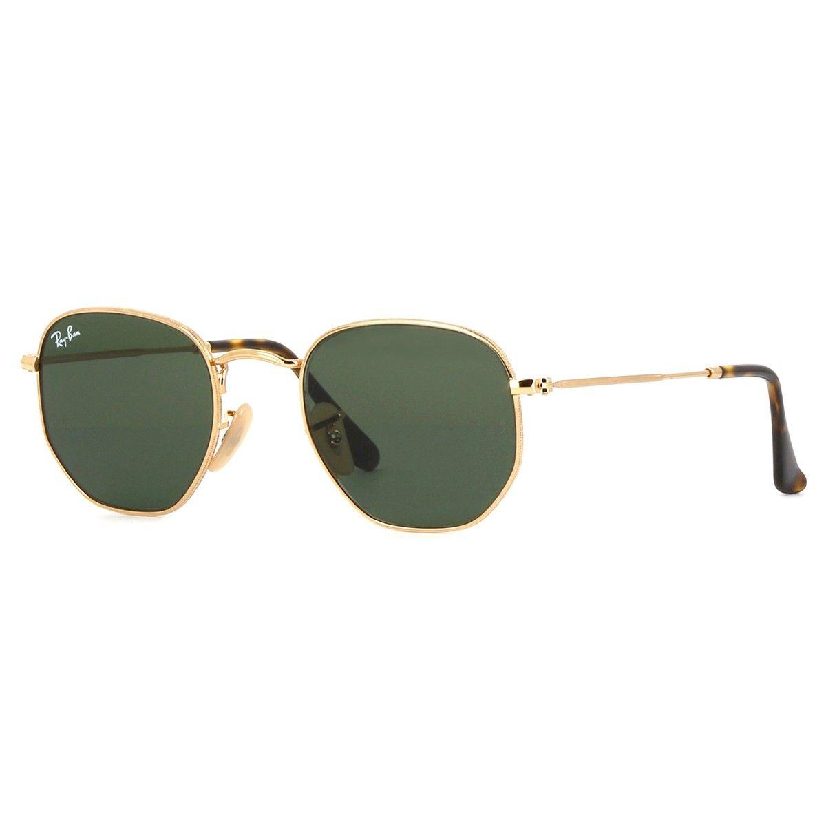 Oculos De Sol Hexagonal Masculino Feminino Original+brinde R 249 ... cc9e896461